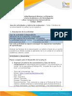 Guía de actividades y rúbrica de evaluación – Tarea  3 Análisis de la comunicación no verbal, texto expositivo.