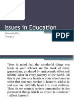Issues in Education.pptx