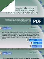 PRESENTACIÓN RESIDUOS - COVID 2