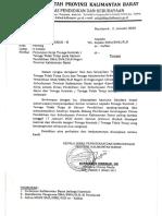 Perjanjian Kerja Tenaga Kontrak Provinsi Kalimantan Barat Tahun 2020
