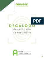 DECALOGO NETIQUETA