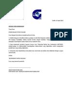 Surat Kerja Kursus RBT1054 2019
