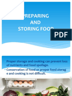 Preparing and Storing Food JMAGAID