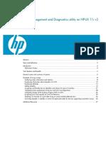 SCSI Management and Diagnostics utility on HP-UX 11i v3