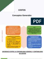 COSTOS CONCEPTOS GENERALES