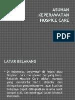 ASUHAN KEPERAWATAN HOSPICE CARE