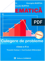 MATEMATICA - Burtea