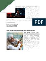 Textos programa Ciclo de Jazz