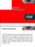 Product Development 2011