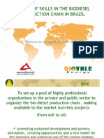 Biodiesel Partnership Proposal in Brazil
