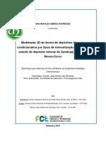DISSERTAÇÃO MODELO 3D DE DEPOSITOS MINERAIS