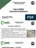 CALCÁRIO - TRABALHO 1