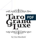 Grand luxe tarot Booklet