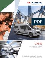 Adria-Vans-TDPreise-2019