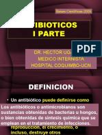 4.1.- ANTIBIOTICOS I