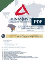 MinasInvest Projetos Sumario