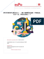 #FutursPluriels - un numérique frugal est-il possible ? – Sciences Po