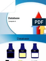 database and its type