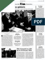 Noticia del 8 de marzo de 1998 publicada en La Vanguardia.