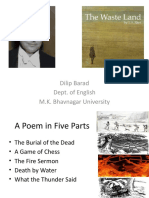 An Introduction and Thematic Reading of T.S. Eliot's 'The Waste Land'