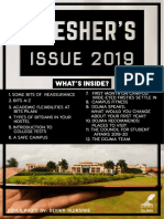 Freshers's Issue 2019