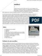 Microssatélite (genética) – Wikipédia, a enciclopédia livre