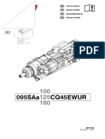 Maintenance Instructions Montabert HC95