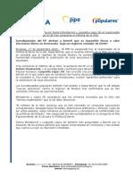 """PPE exige a Borrell que declare """"inadmisible"""" el fraude electoral en Venezuela tras informe de ONU"""