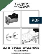 LSA 36-2Pole 1phase