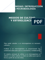 esterilizacion medio de cultivo