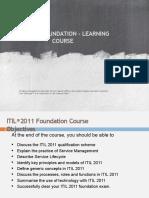 ITIL V3 Training
