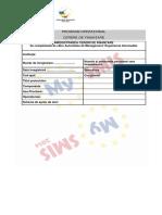 Anexa 1 Model Solicitare Finantare
