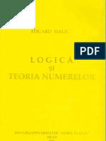 Eduard Halic - Logica si Teoria Numerelor