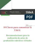 10 Claves Actos de Graduación Virtuales