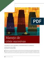Manejo de crisis sucesivas  en PDF - INCAE Business Review