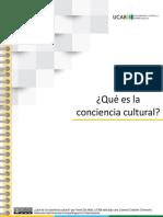 2. Qué es la conciencia cultural