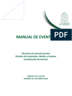 Manual de Eventos Universidad de Antioquia