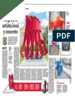 """""""Negret, el artista local y concreto"""" - Diario ADN, Bogotá (17 de septiembre 2020)"""