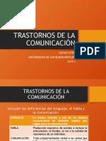 TRASTORNOS DE LA COMUNICACIÓN MAR 30