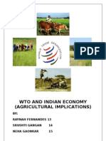 WTO AND INDIAN ECONOMY