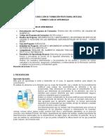 GUIA DE APRENDIZAJE DE LACTEOS Y DERIVADOS