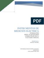 INFORME INSTRUMENTOS DE MEDICION