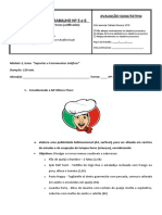 Ficha de reposição de horas nº 5 e 6
