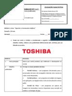 Ficha de reposição de horas nº 1 e 2