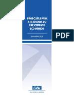 Propostas Para a Retomada Do Crescimento Econômico