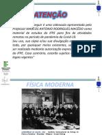 FISICA MODERNA - INTRODUÇÃO HISTÓRICA (1) (1)