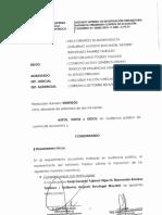 Poder Judicial ordena impedimento de salida para los involucrados en los Mamami Videoa