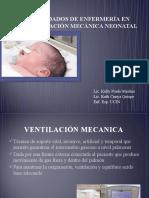 CUIDADOS DE ENFERMERÍA EN VENTILACIÓN MECÁNICA NEONATAL ppt 2010.pptx