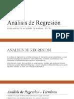 5 -ANALISIS DE REGRESIÓN