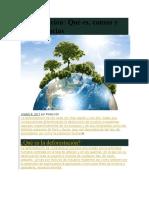 Deforestación Y Erosion Doc